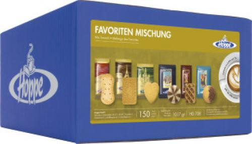 Hoppe Favoriten Mischung Portionsgebäck Classic 150 Port./1017g