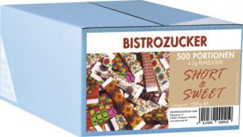 Bistrozucker Portionszucker Short&Sweet 500x3g