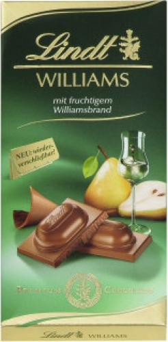 Lindt Williams Schokolade 100g