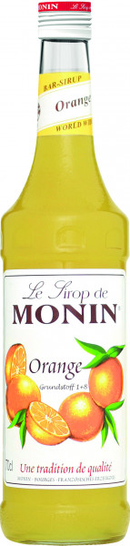 Monin Sirup Orange, 700ml Flasche