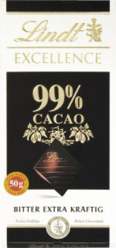 Lindt Excellence 99% 50g