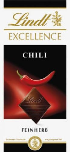 Lindt Excellence Chili 100g