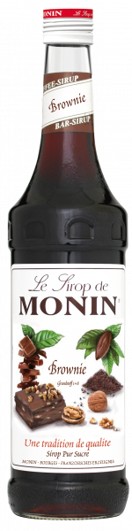 Monin Sirup Brownie, 700ml Flasche