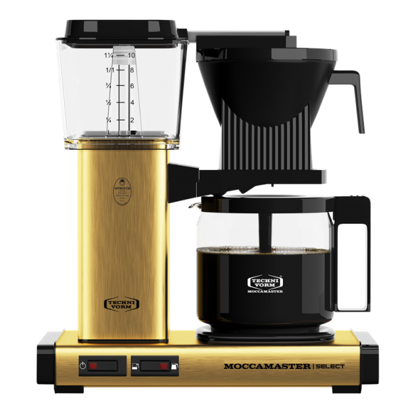 Moccamaster KBG Select - brushed brass
