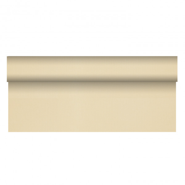 Papstar Tischdecke Soft Selection + 40x1,18m champagner