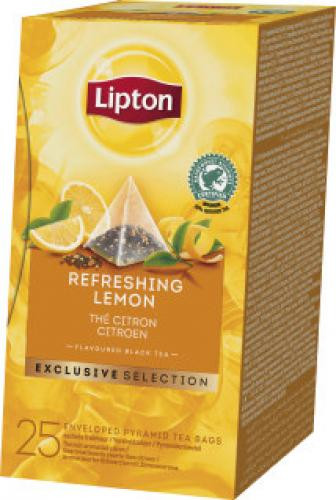 Lipton Tee Zitrone Exclusive Selection, 25 Beutel