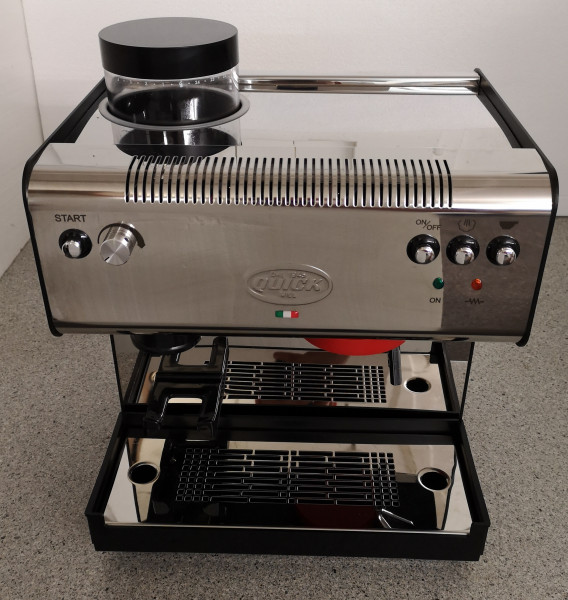 B-Ware #1313 - Quick Mill Superiore Modell 02835 mit Kaffeemühle
