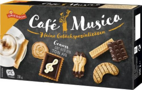 Griesson Cafe' Musica 200g