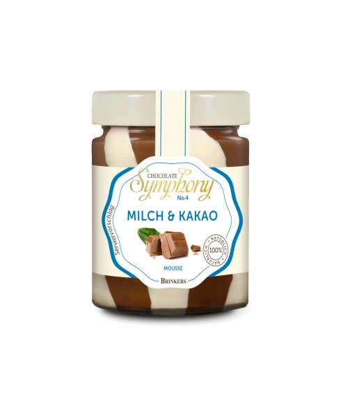 Brinkers Mousse Milch & Kakao 210g